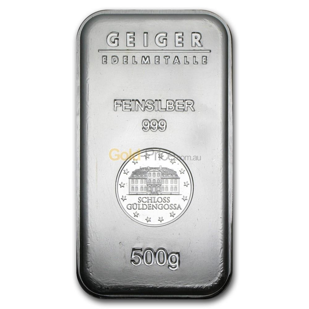 Silver Bar Price Comparison Buy 500 Grams Silver